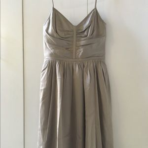 NWT Banana Republic 100% Silk Strap Dress 0P